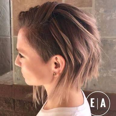 Image Result For Long Bob Shaved Side Fine Hair Medium Hair