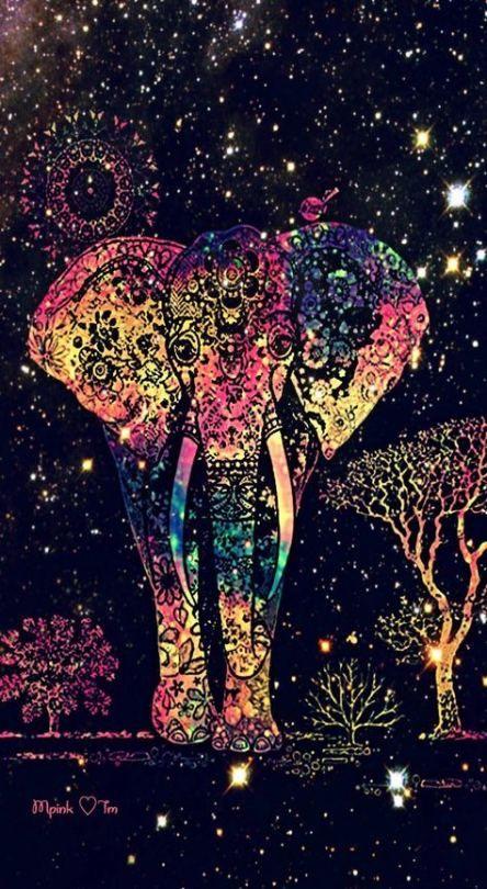 New Wallpaper Celular Bloqueo Elefantes 70 Ideas Elephant Wallpaper Elephant Art Galaxy Wallpaper