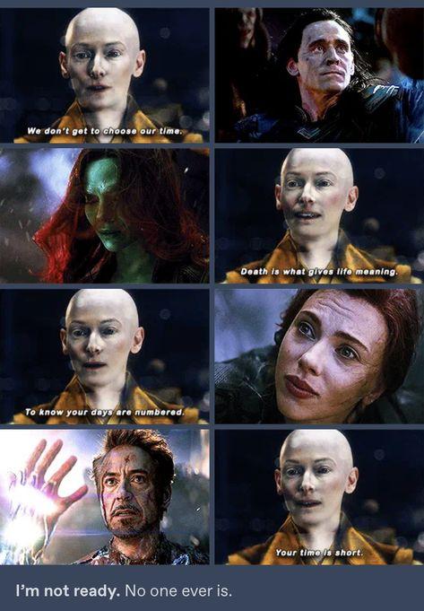 Infinity War to Endgame. 💔😥