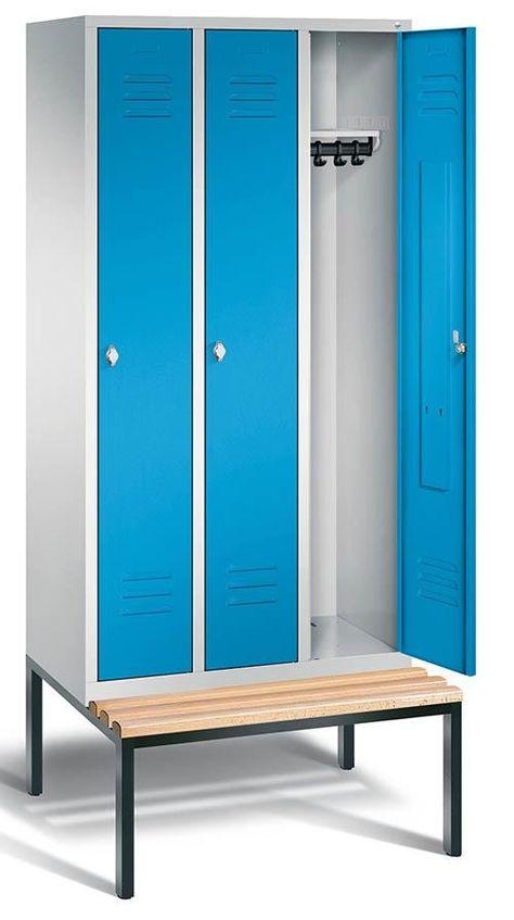 Garderobenschrank Mit Untergebauter Sitzbank Bth 610x500x2090mm Gtardo De Garderobe Schrank Garderobenschrank Garderobe