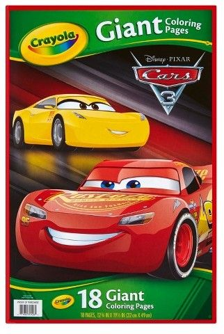 Crayola Giant Coloring Pages Cars 3 Coloring Pages Crayola