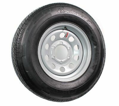 Trailer Tire St225 75r15e 2830 Lb 15x6 6 5 5 Silver Modular Wheel Rim 4 27 Cb Ebay In 2020 Trailer Tires Cargo Trailers Automotive Tires