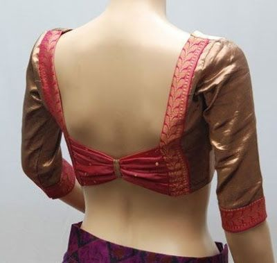 55 Trendy Blouse Back Neck Designs With Borders For Sarees Blouse Neck Designs Fancy Blouse Designs New Saree Blouse Designs