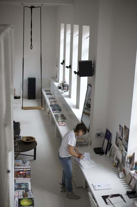 you must enjoy in your work, where you spend 1/3 of your time. create amazing office space
