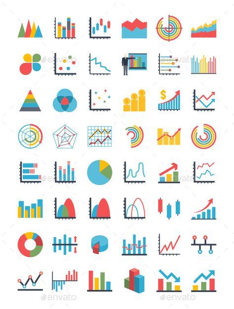 Graph Icons Set