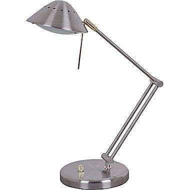 Halogen Desk Lamp Tensor Halogen Desk Lamp Brushed Steel Desk
