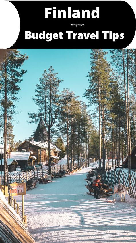 Finland Budget Travel Tips