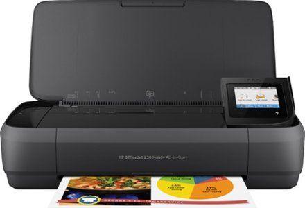 Hp Officejet 250 Mobile Wireless All In One Inkjet Printer Black