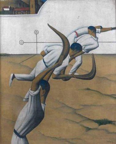 Tobeen Francais 1880 1920 Titre Les Joueurs De Pelote