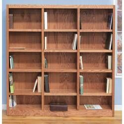 Wakefield Standard Bookcase Library Bookcase Bookcase Adjustable Shelving