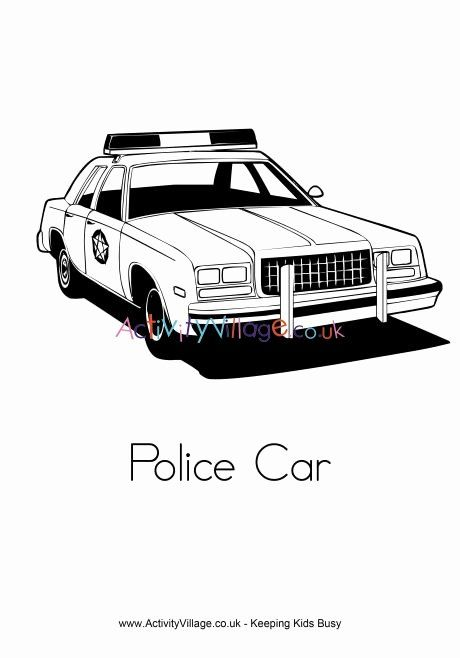 Police Car Coloring Page Beautiful Police Car Colouring Page Cars Coloring Pages Kids Coloring Books Police Cars
