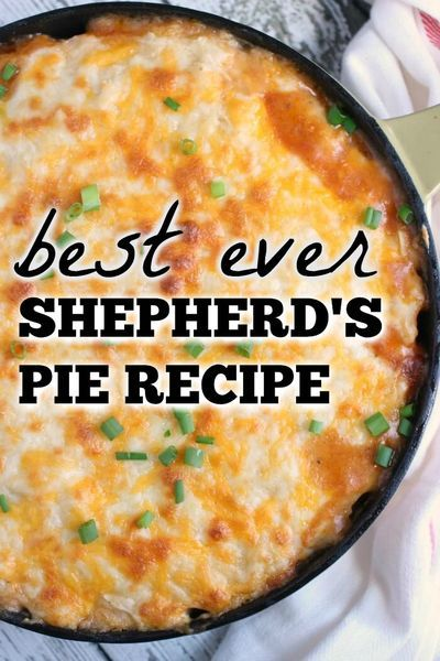 Shepards Pie Shepherd S Pie In 2020 Best Shepherds Pie Recipe Easy Cooking Recipes Shepherds Pie Recipe