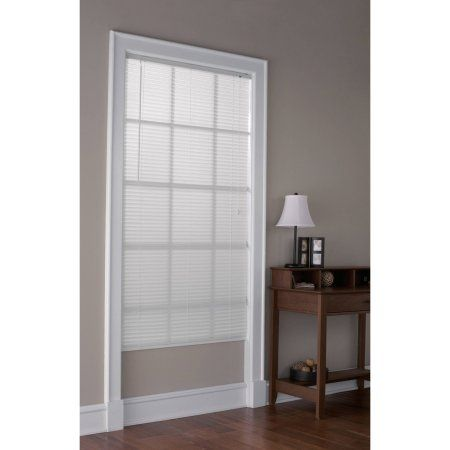 Buy Mainstays Light Filtering 1 Vinyl Blinds White At Walmart Com Indian Home Decor Home Vinyl Mini Blinds