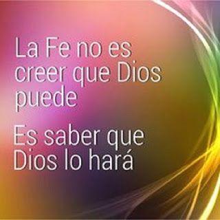 El Blog De Miriambiental La Fe Y El Amor Son Inseparables Promesas De Dios Frases Dios Citas Sobre Dios