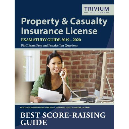 Books Casualty Insurance Exam Study Insurance License