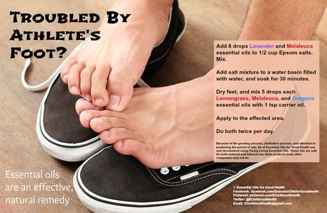 Essential oil and athletes foot. #thieves #YLEO | Essential Oils |  Pinterest | Living essentials, Young living and Essentials