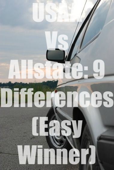 Usaa Vs Allstate American Family Insurance Insurance Comparison Car Insurance Comparison