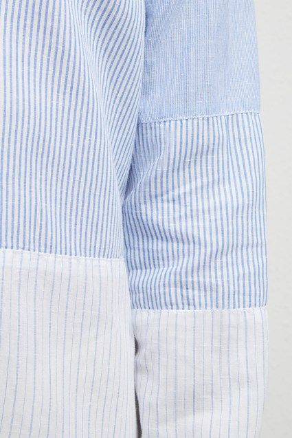 French Connection Mens Linen Chambray Regular