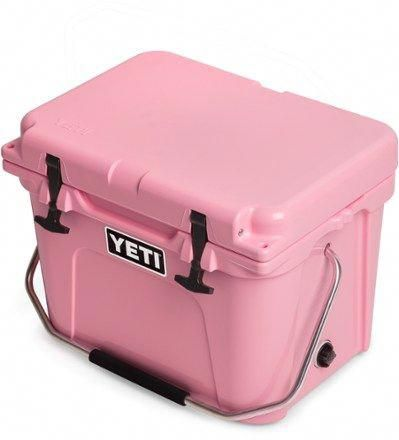 Yeti Roadie 20 Limited Edition Pink Cooler Pink Yeti Roadie Pink Yeti Cooler Yeti Coolers