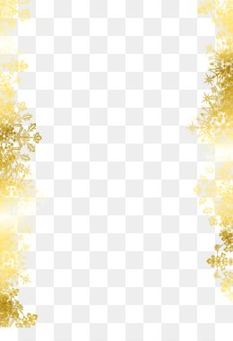 Snowflake Texture Mapping Pattern Golden Snowflake