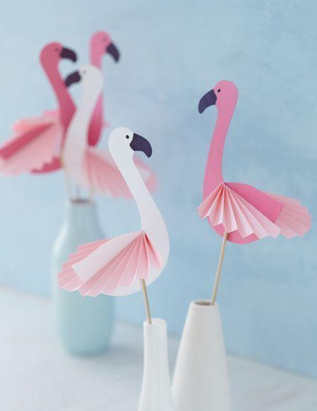 Vorlage Flamingo Fensterbild Fensterbilder