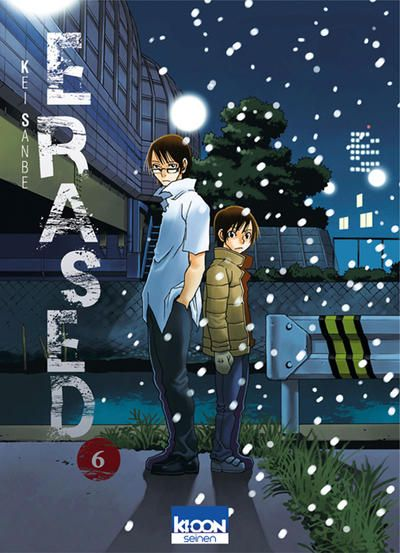 Cover For Erased Ki Oon 2014 Series 6 In 2020 Anime Wall Art Manga Covers Japanese Poster Design