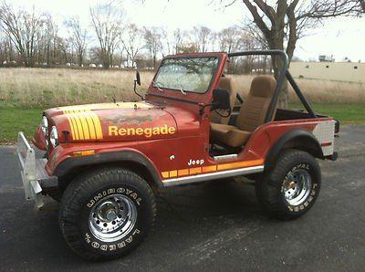 1980 Jeep Renegade For Sale Http Carenara Com 1980 Jeep