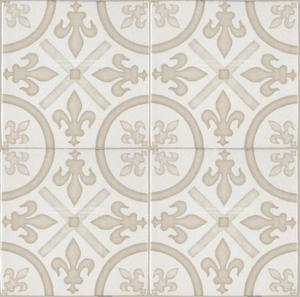 Gardens In The Cloister 16th Century French Encaustic Decorative Tile King S Fleur De Lys Decorative Wall Tiles Kitchen Tiles Backsplash Decorative Tile