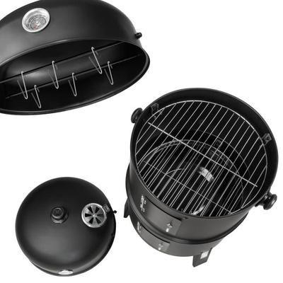TECTAKE Barbecue 3 en 1, Grill, Fumoir, Smoker avec