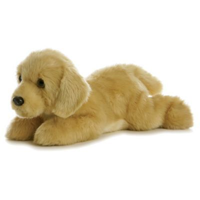 Aurora Goldie Golden Retriever Dog Plush Toy In Tan Bed Bath