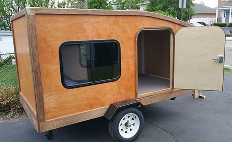 Our Trailers With Images Small Camper Trailers Homemade