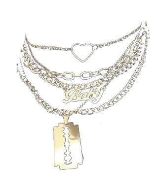 Layered Necklace Png Polyvore Aesthetic Sparkle Jewelry Layered Necklaces Jewelry
