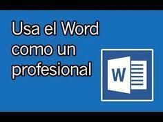 Haz Trabajos Tesis Documentos Profesionales Y Mas Con Word