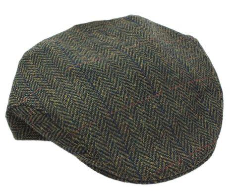 Ivy Cap Made in Ireland Gray Trinity Herringbone Design