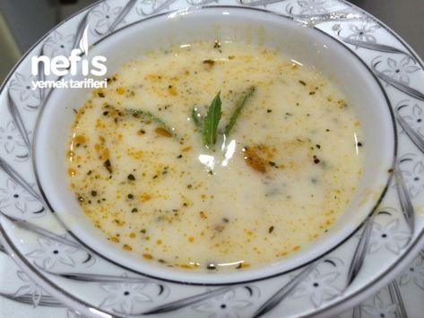 Nohutlu Pirincli Yogurt Corbasi Yemek Tarifleri Yemek Gida