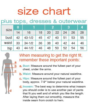 Maurices plus tops size chart facts and hacks pinterest