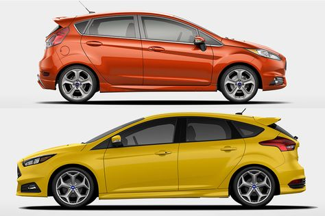 2018 Ford Focus Vs 2018 Ford Fiesta What S The Difference Ford Trucks Ford Ford Focus