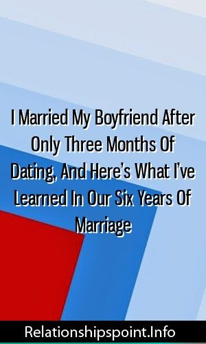 how many months of dating before engagement