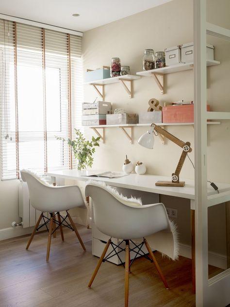 Un Hogar 100 Hygge Para Una Pareja Joven Despacho En Casa