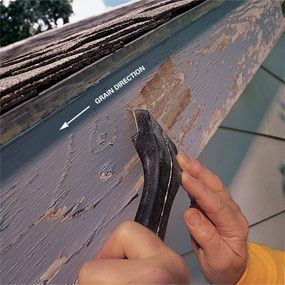 Outdoor Painting Prep Not Going To Be Easy On This Old House Trim Exterior Wood Siding Paint