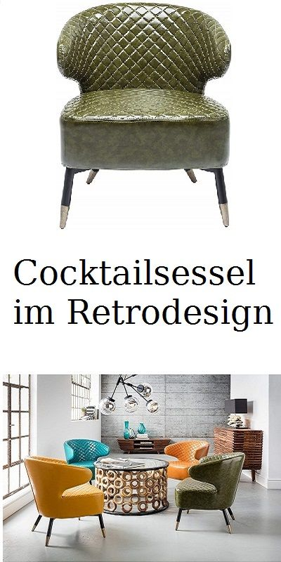 Cocktailsessel Im Retrodesign Filigranes Edles Stahl Gestell In 2020 Lounge Sessel Cocktailsessel Sessel