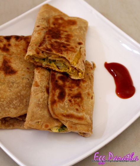 Egg paratha is basically a flat bread recipe with egg mixture stuffing...#eggrecipes #eggs #kidsrecipes