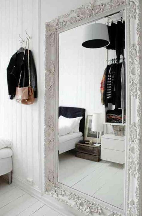 Enorme Miroir Pour La Chambre A Coucher Deco Maison