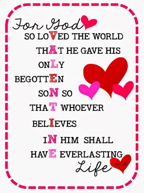 11++ John 3 16 valentine coloring page download HD