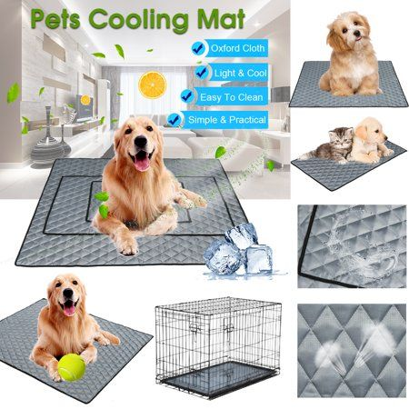 Pet Cooling Mat Non Toxic Cool Pad Cooling Pet Bed For Dog Cat