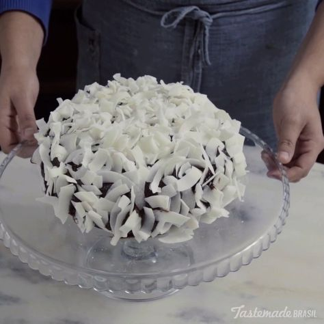 Coconut Chocolate Cake