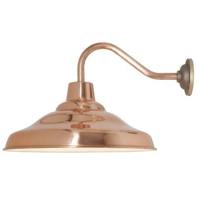 The School Wall Light Is An Industrial Style Design With A Modern Look The Solid Copper Provides A Stunning Warmt Wall Lights Wall Lamp Industrial Wall Lights