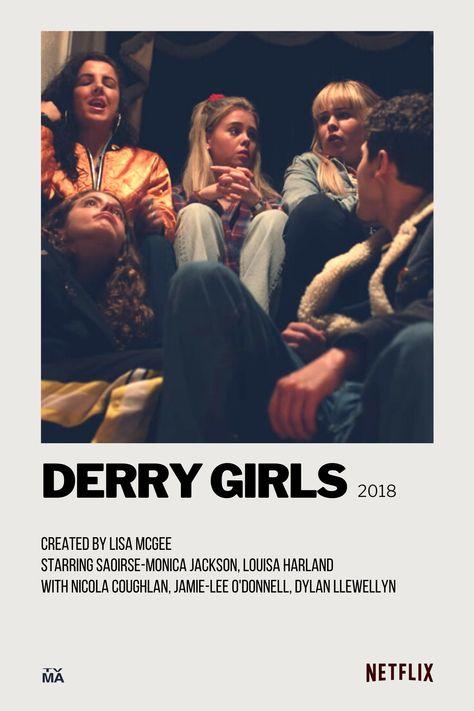 Derry Girls Polaroid Movie Poster