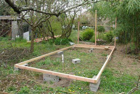 Construire Une Cabane Comment Construire Une Cabane Construire Cabane Abri De Jardin