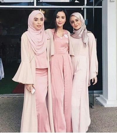 Baju Kondangan Simple Hijab